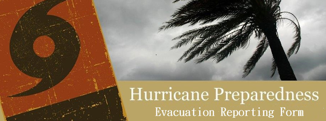 Hurricane Evacuation Reporting Form Slide for Web